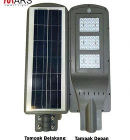 Lampu Jalan Led dengan solar cell PJU all in one 60Watt Mars-A179