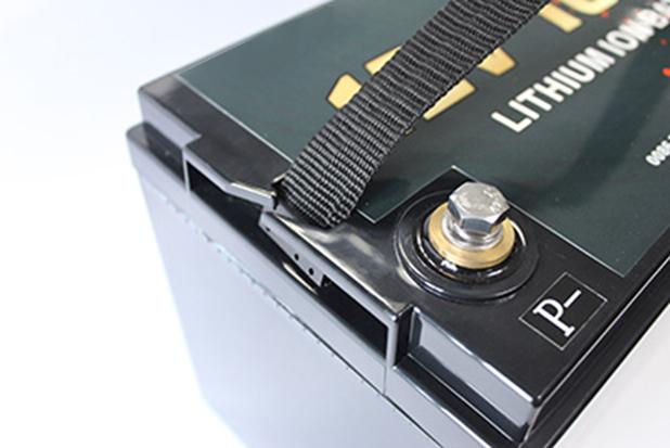 Battery Lithium Ion Battery 12V 100Ah tengah 3