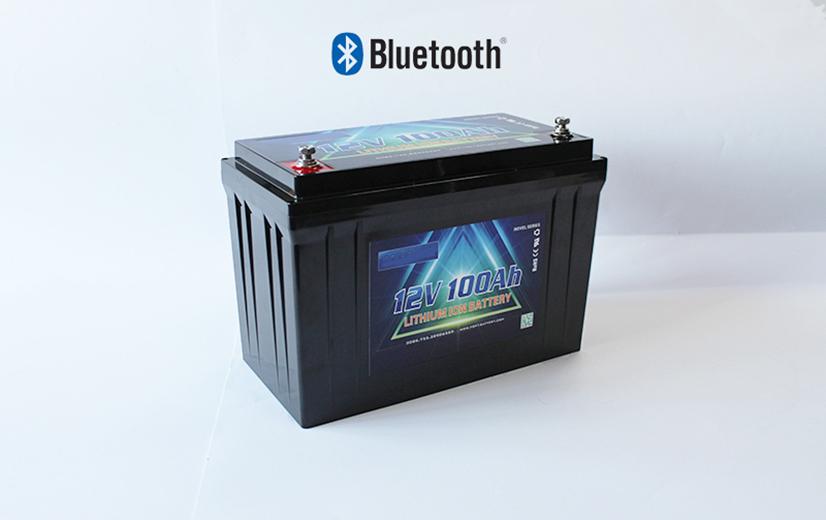 Jual Baterai dengan Lithium Bluetooth 12V 100Ah Untuk PJUTS Motor Listrik