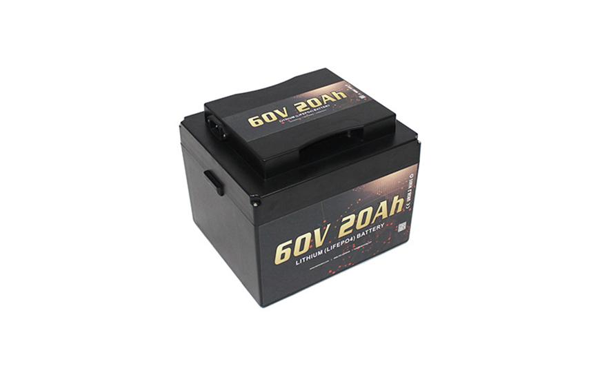 Jual Baterai Motor Listrik 60V 20Ah Electric Scooter Lithium Battery