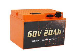 Pabrik baterai lithium surabaya jual 60V 20Ah Electric Scooter Lithium Battery