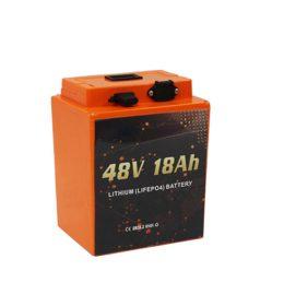 Jual Baterai lithium untuk motor listrik 48V 18Ah Electric Scooter Lithium Battery